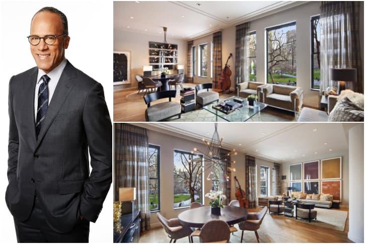 LESTER HOLT – MANHATTAN, $6.4 MILLION