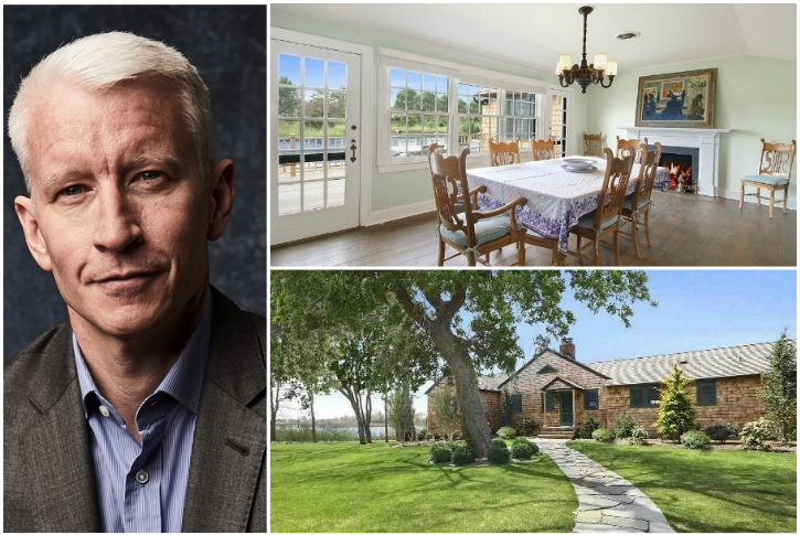 ANDERSON COOPER — THE HAMPTONS, $3.1 MILLION