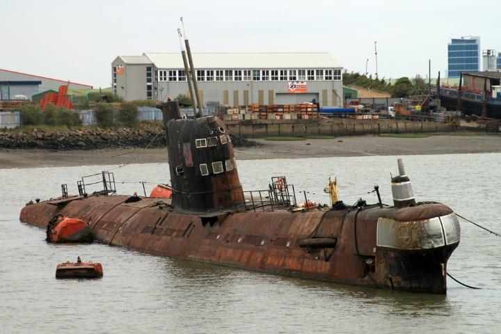 U-475 Black Widow Or Foxtrot B-39