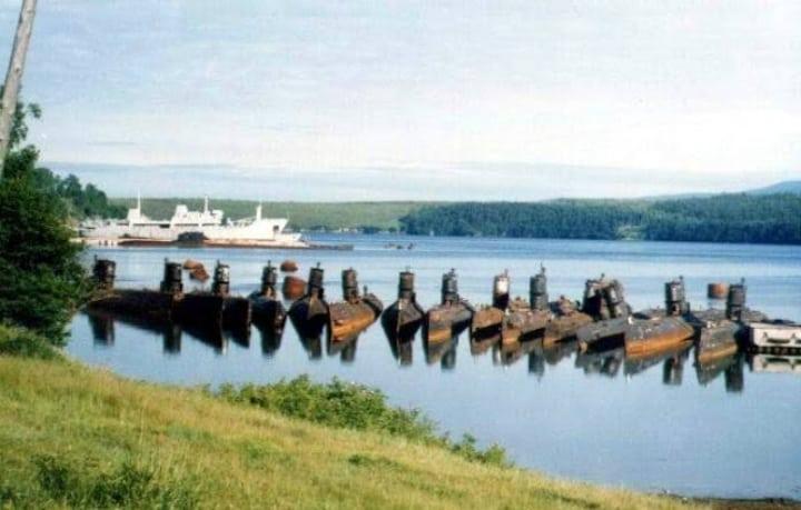 Submarines of Alexandrovsk-Sakhalinsky