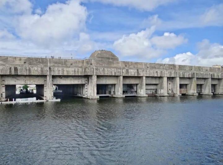 Saint Nazaire Submarine Base