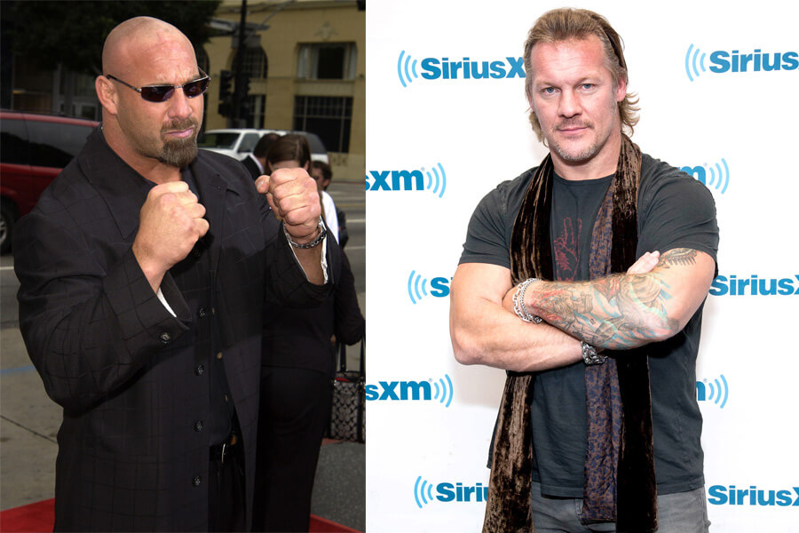 Chris Jericho Versus Bill Goldberg