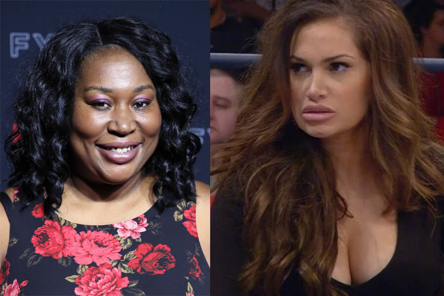 Awesome Kong Versus Reby Sky