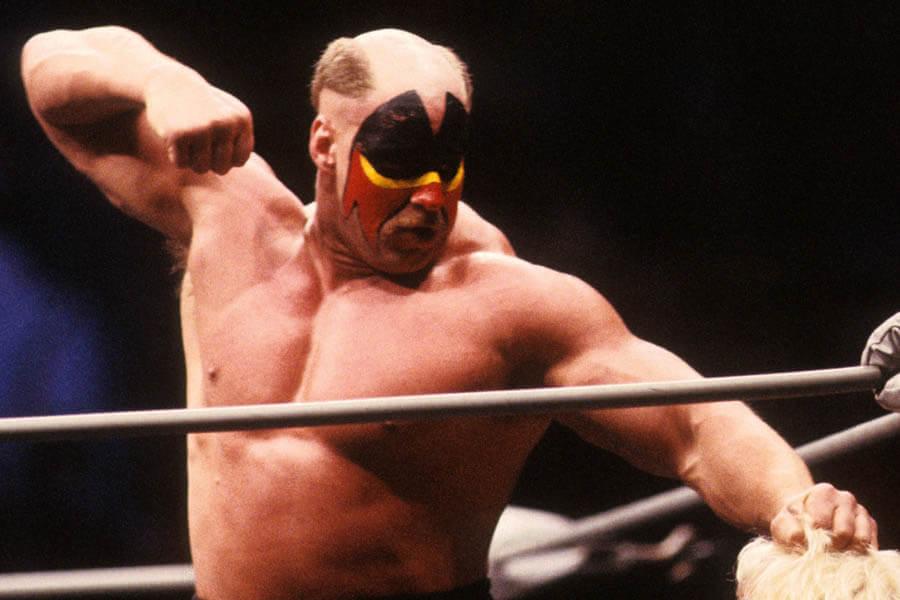 Randy Savage Versus Road Warrior Hawk