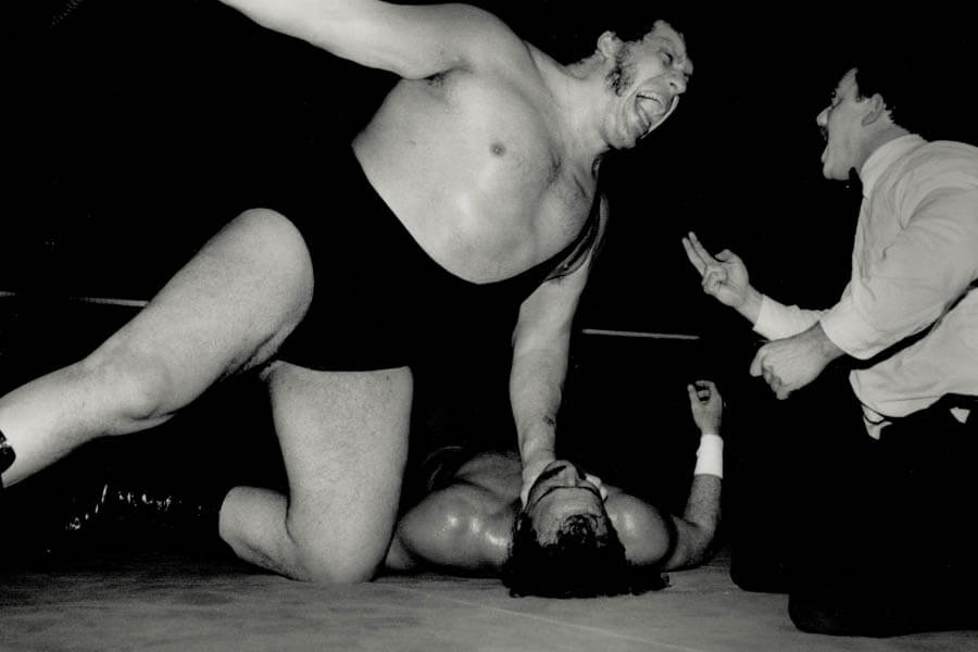 Andre The Giant Got Bored