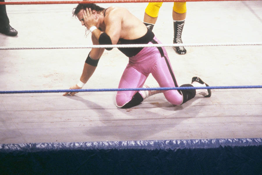 The Dynamite Kid's Teeth Was Knocked Out By Jacques Rougeau
