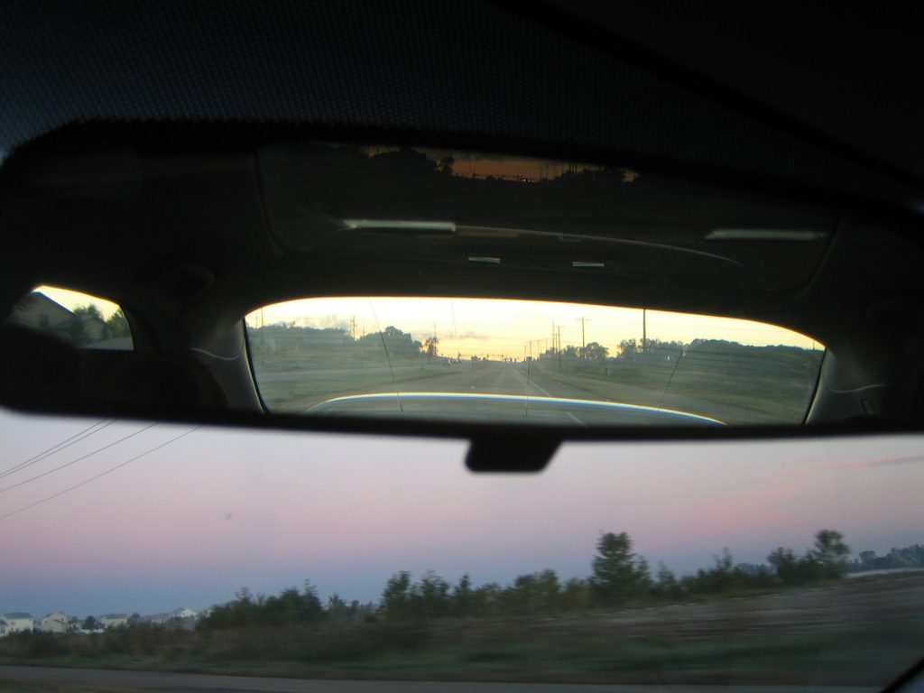 Rearview Mirror Tab