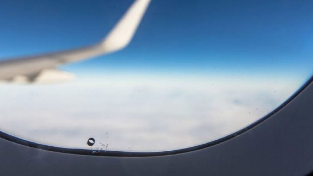 Airplane Window Holes