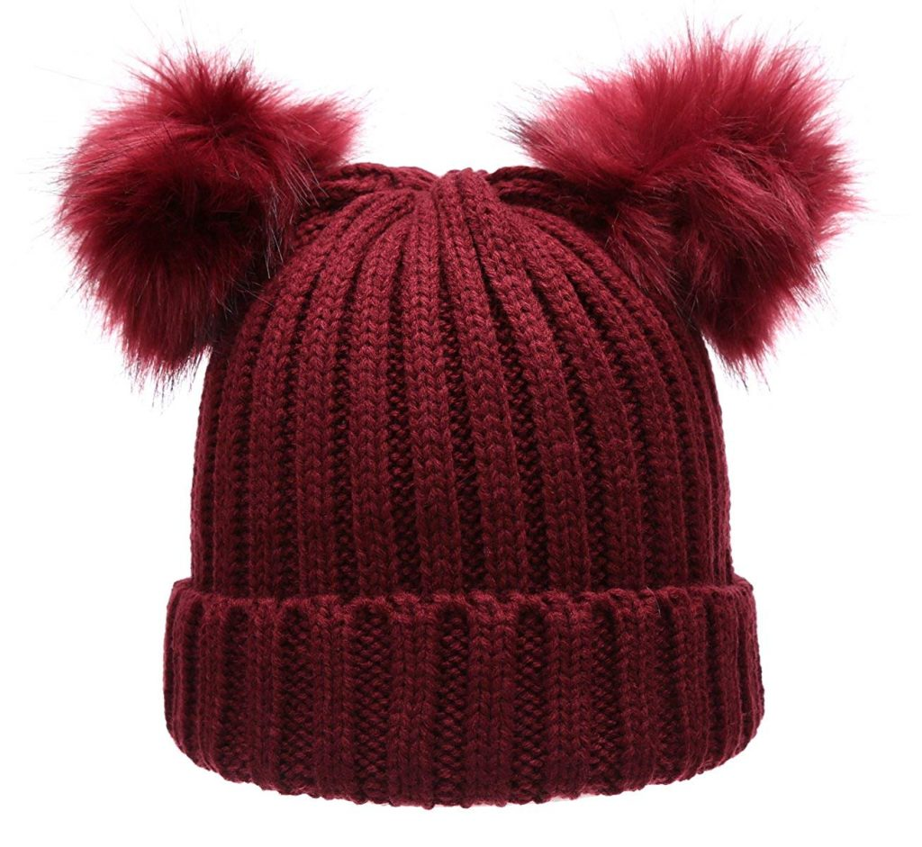 Winter Hat Pom-Poms