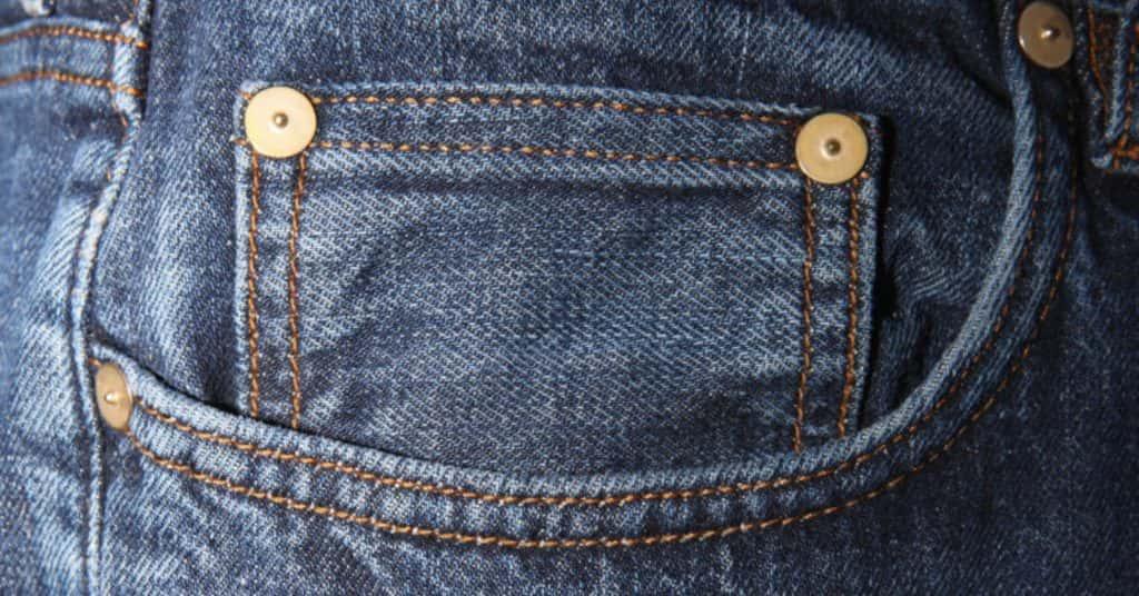 Random Jean Buttons