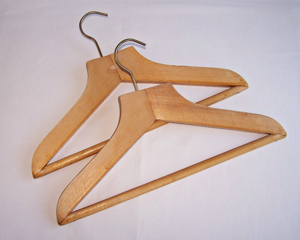 Coat Hangers Made With Wood