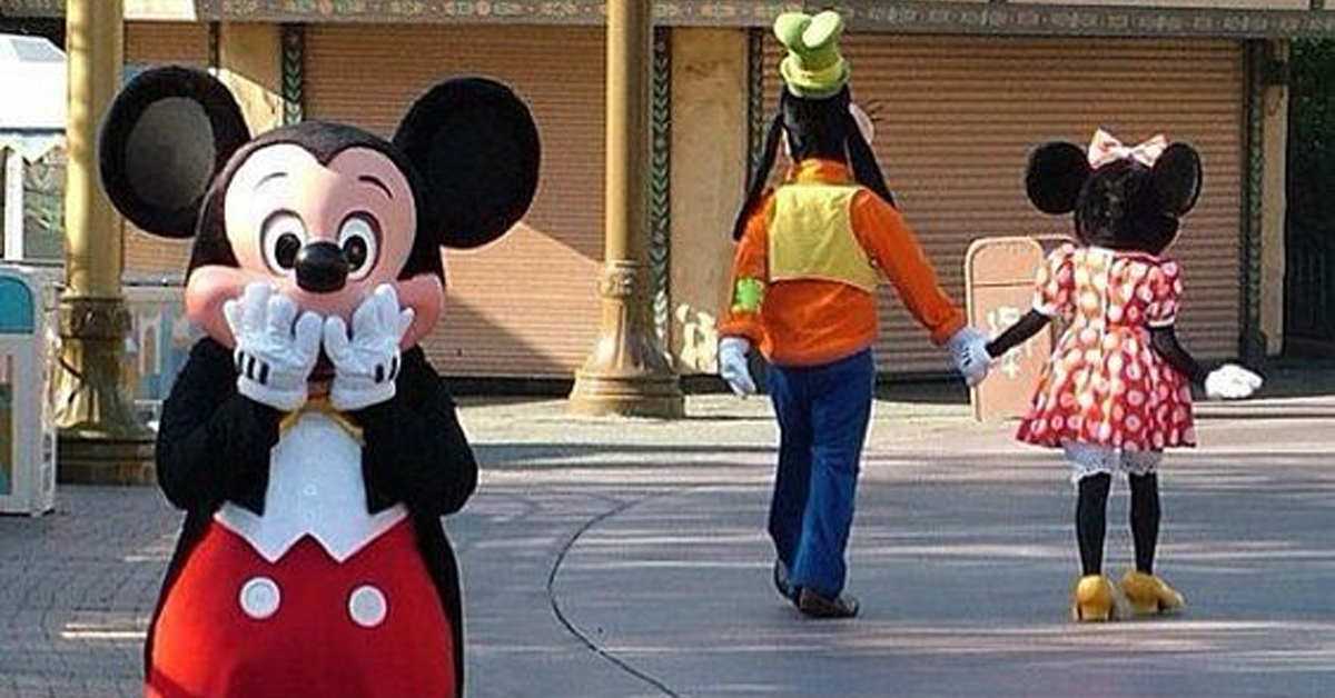 Leaving Minnie Mouse For…