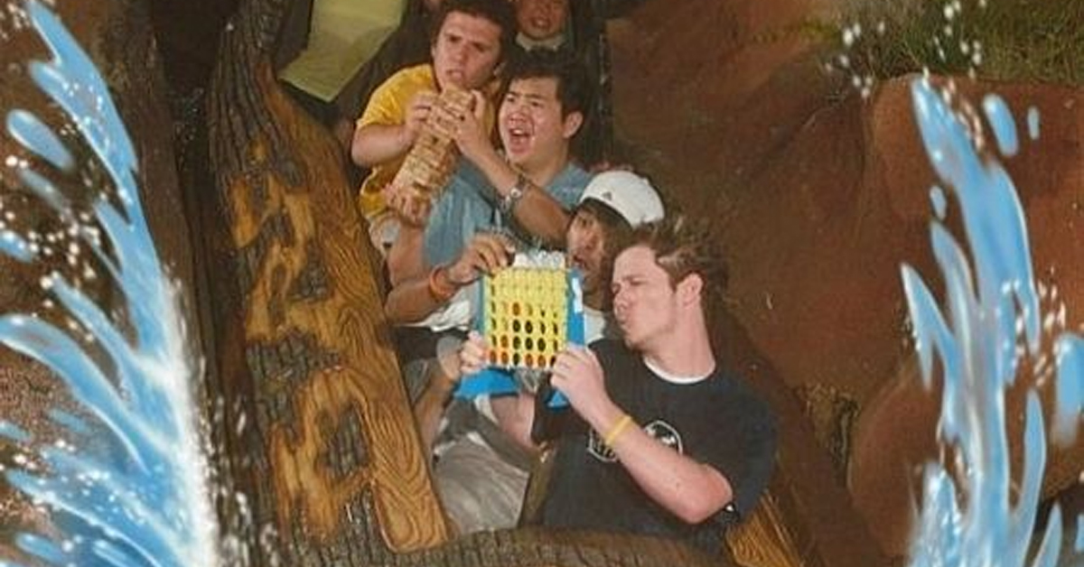 Bored On Splash Mountain