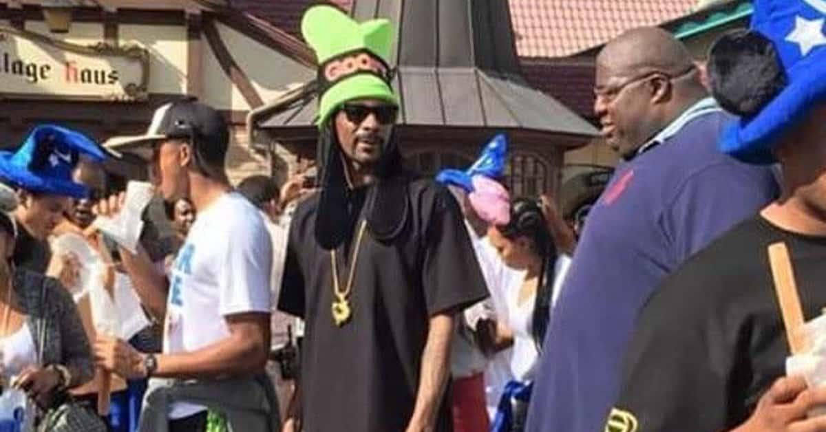 Even Celebrities Visit the Disney Parks