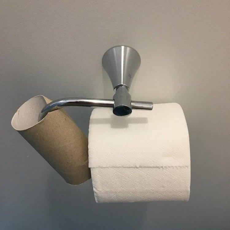 More Toilet Paper Rolls