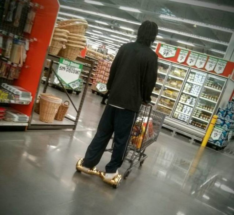 Grocery Shopping On Wheels