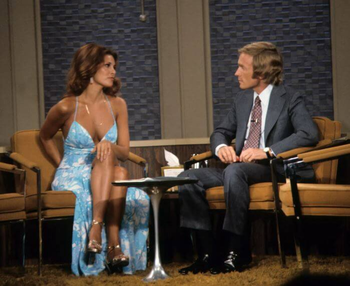 Raquel Welch Went On The Dick Cavett Show