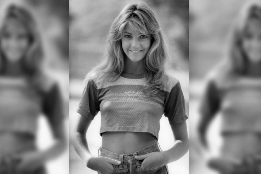 Heather Locklear Stuns In This 1981 Photoshoot