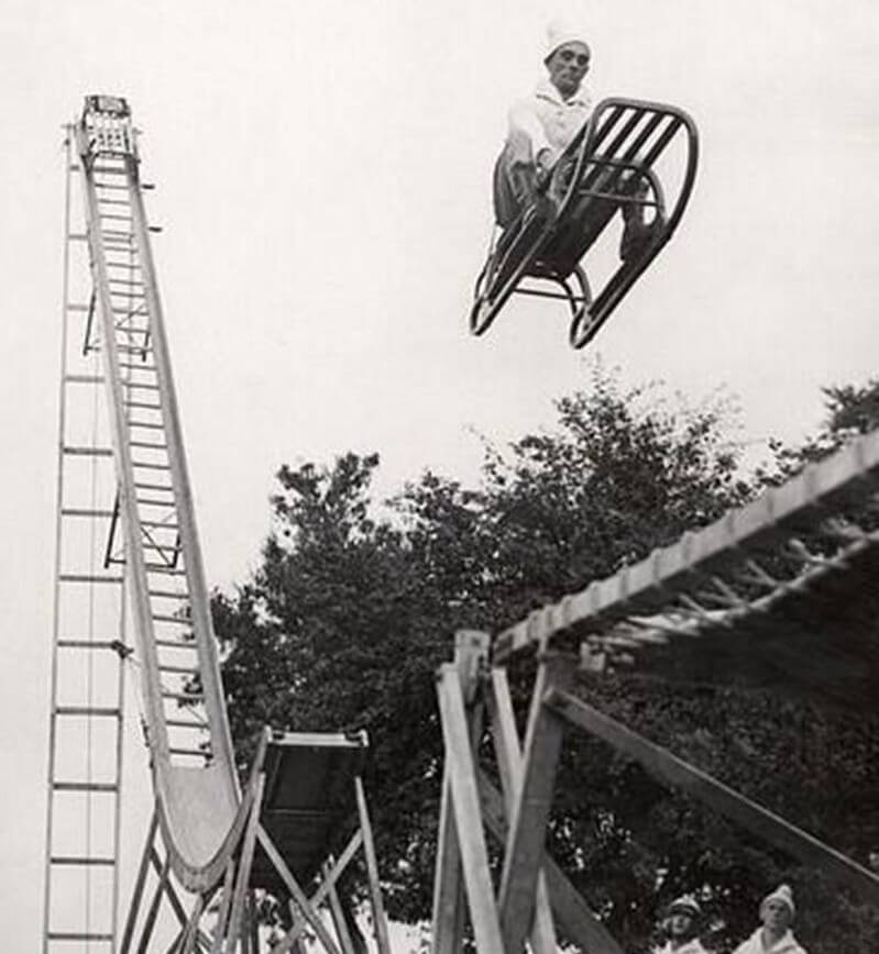 A Prisoner Was Used To Test the Safety of This Roller Coaster