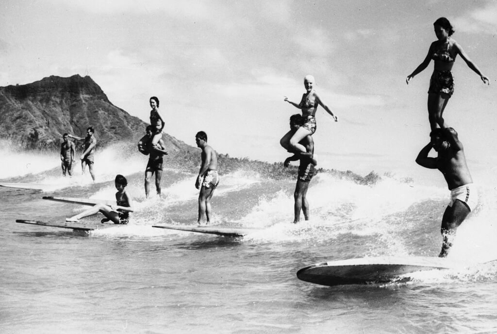 Surfing Back In The Day