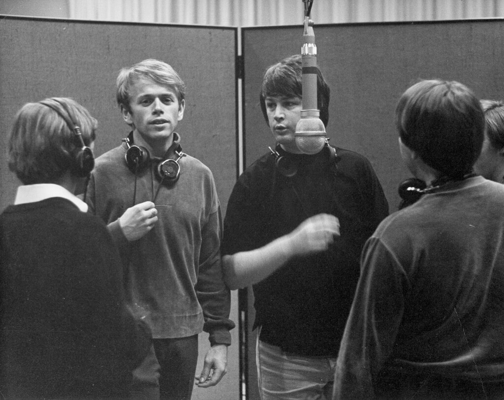 The Beach Boys Back At The Recording Studio