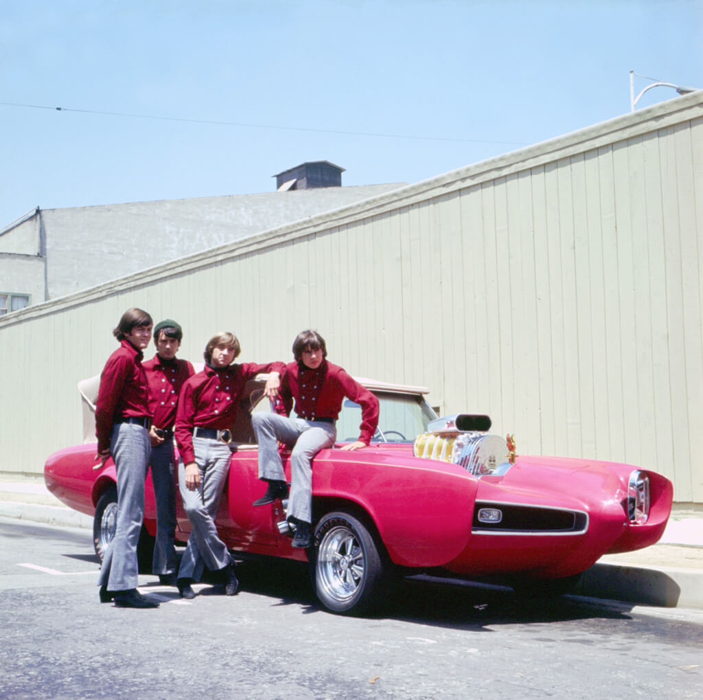 The Monkees Posing For A Portrait