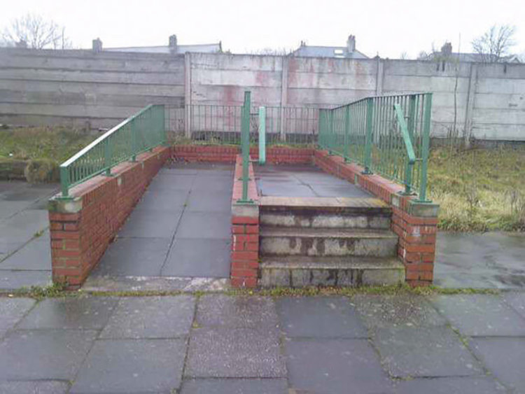 Stairs And A Ramp To Nowhere