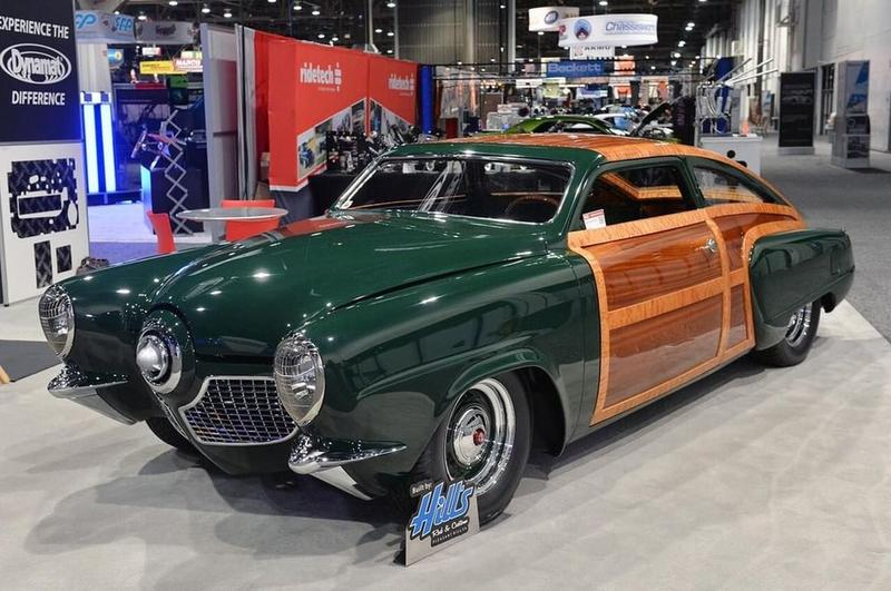 A Unique Custom Car Called The 1951 Studebaker Woodie