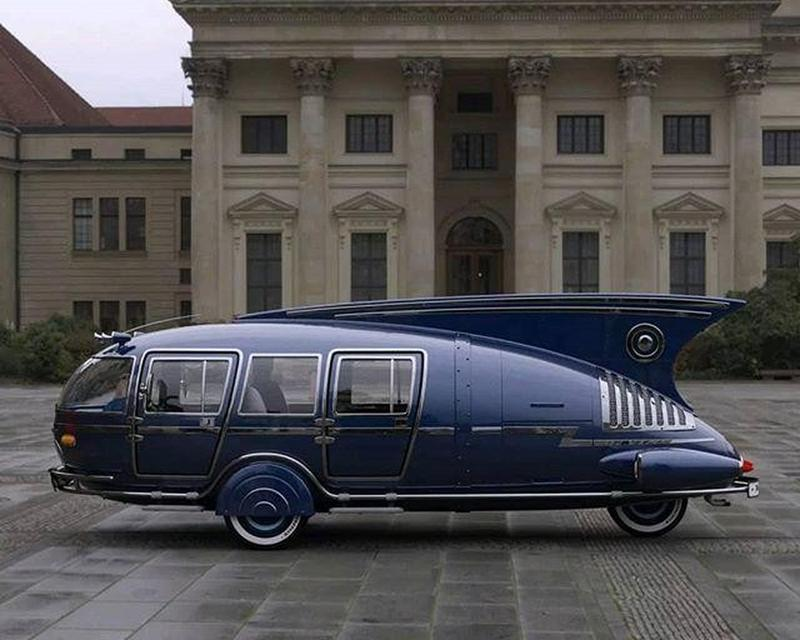 The Futuristic 1938 Dymaxion Was Designed By Buckminster Fuller