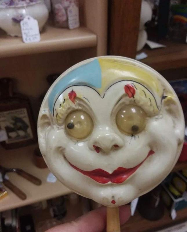 This Terrifying Rattle Kept Kids Busy In The 1930s