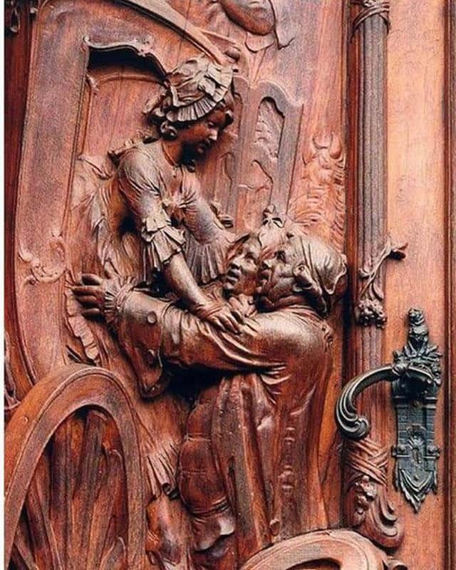 Intricate 18th Century German Door Shows Off Great Workmanship