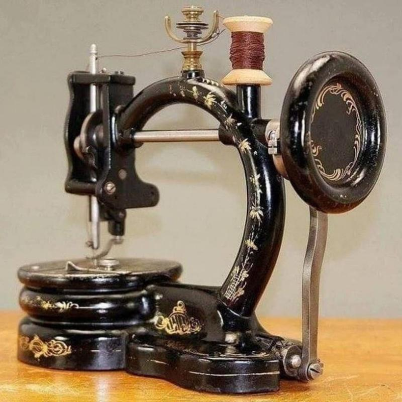 This 1867 Sewing Machine Was The First Of Its Kind