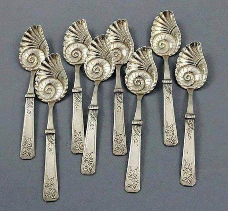 Quirky Silver Ice Cream Spoons Date Back To 1890