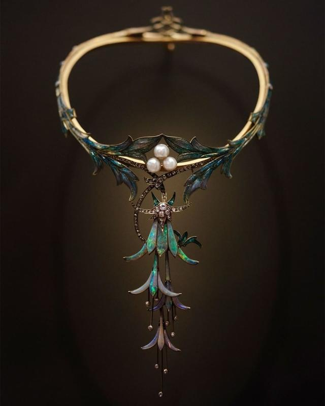 Gorgeous Necklace Created By Georges Fouquet In 1905