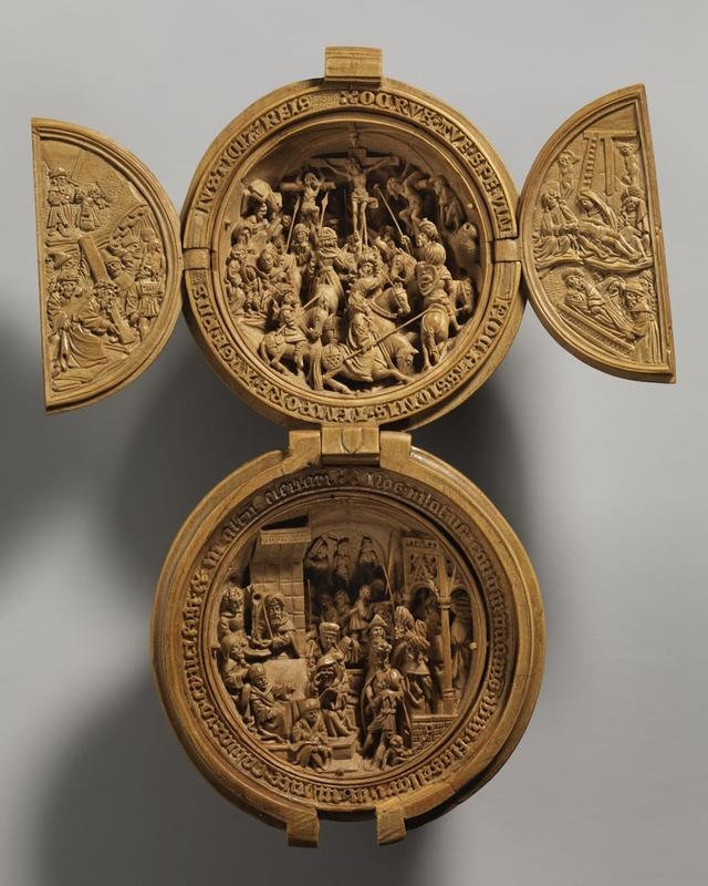 This 16th Century Boxwood Miniature Was Made In The Netherlands