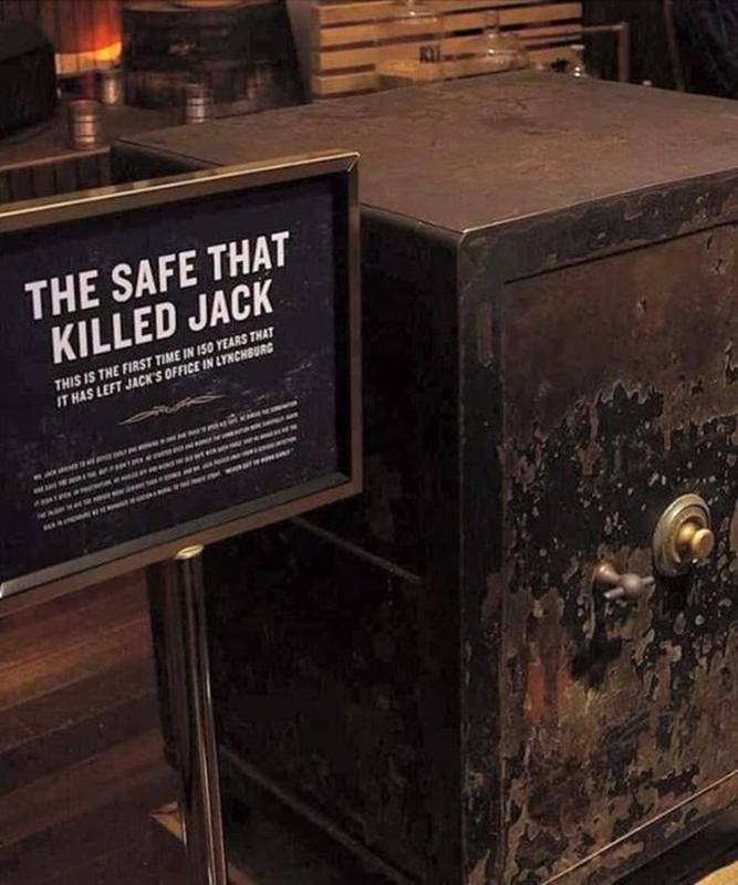 Whiskey Legend Jack Daniel Died After Kicking His Safe Out Of Frustration