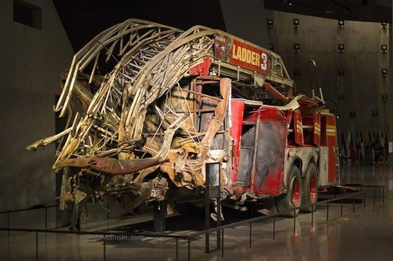 Ladder 3 Was Driven By First Responders During 9/11