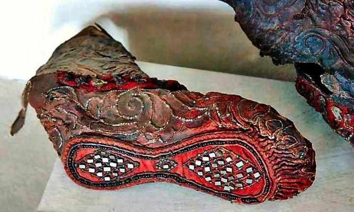 Preserved Boot Found In The Altai Mountains