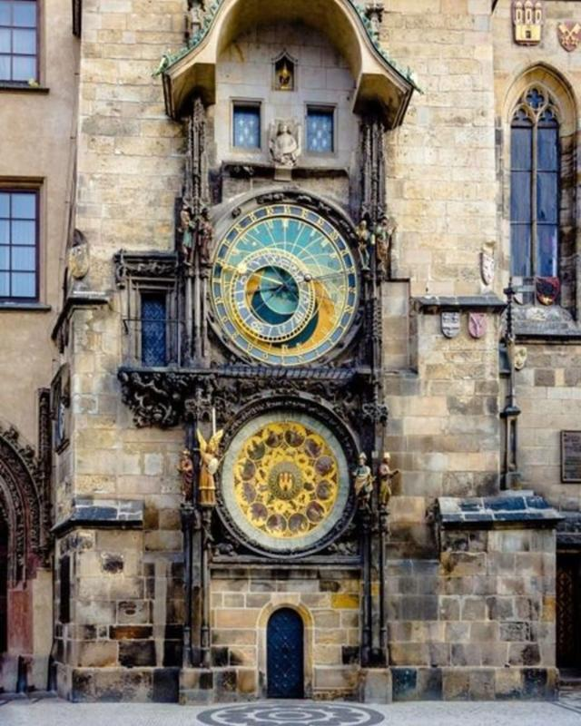 The Oldest Working Astronomical Clock Is In Prague