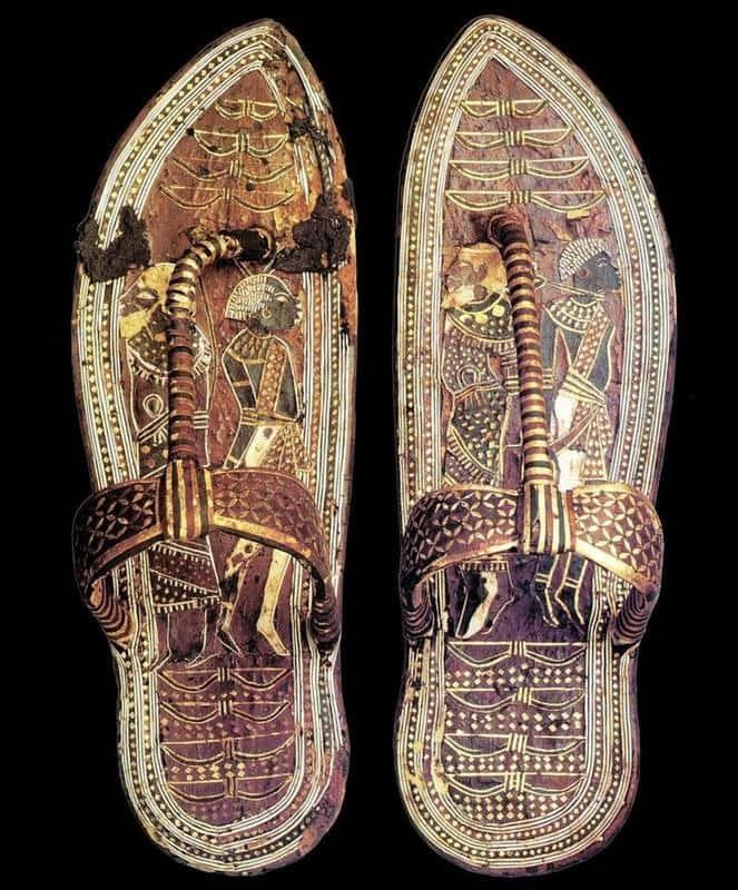 King Tutankhamun Wore Stylish And Royal Sandals