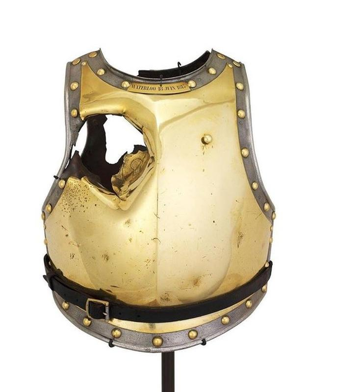 Antoine Fraveau Wore This Breastplate When He Died At The Battle of Waterloo