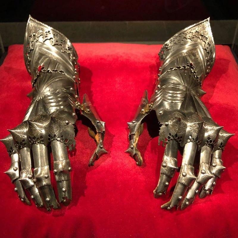 Holy Roman Emperor Maximillian I Wore Armored Gloves Until His Death