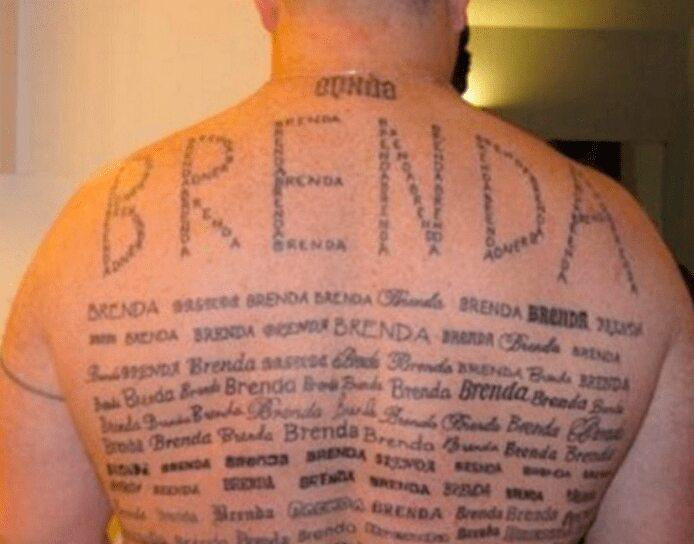Dearest Darling Brenda