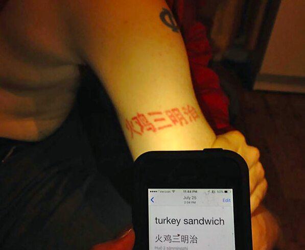 Tattoo Translations