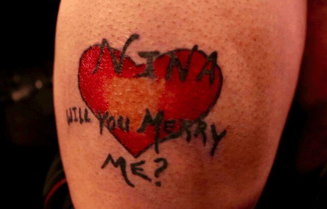 A Proposal Tattoo