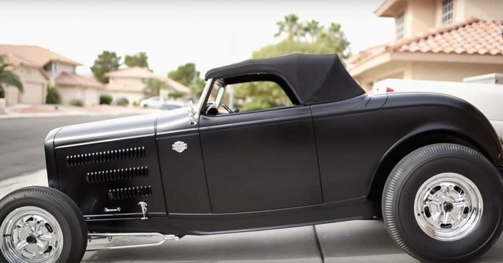 A Custom Ford Roadster