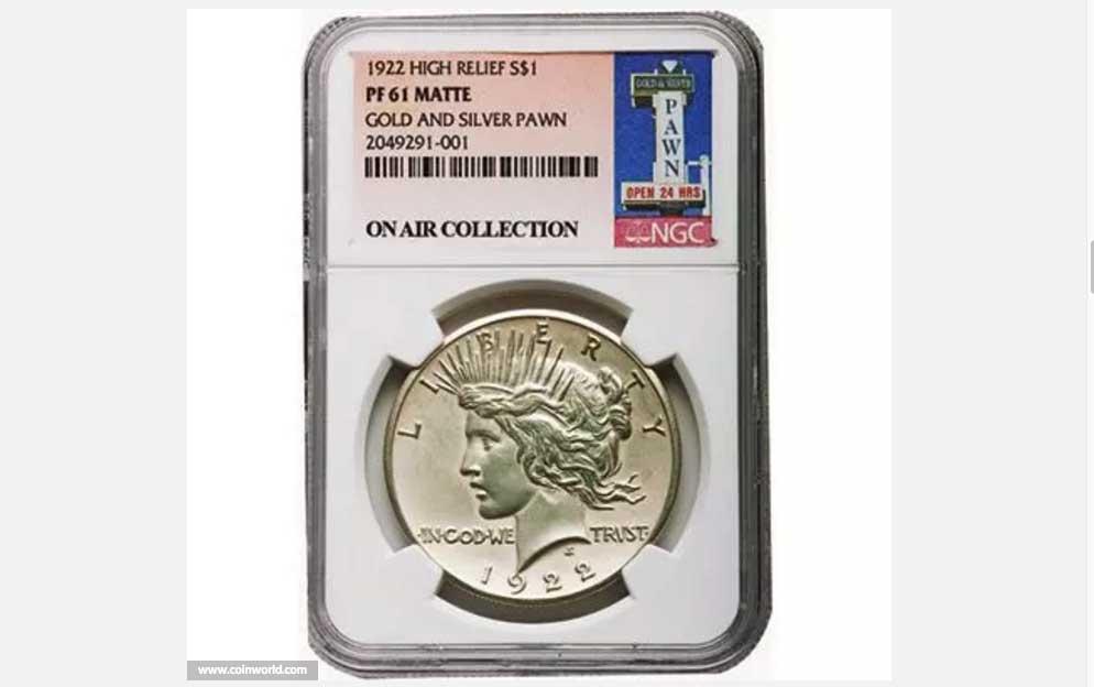 A 1922 Coin