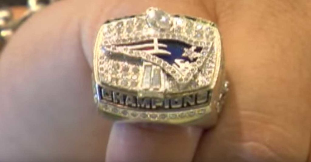 A 2001 Patriots Super Bowl Ring