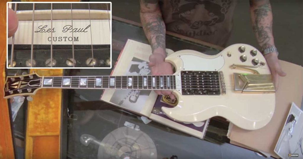 A 1961 Gibson Guitar
