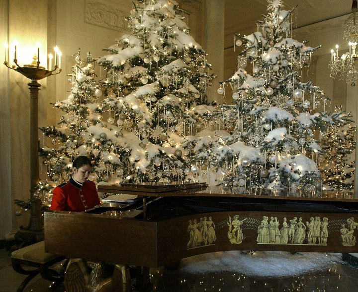 The Grand Piano In The White House